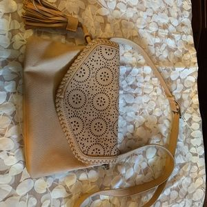 Francesca's tan cross body